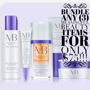 Bundle any (3) Listed Meaningful Beauty Items $75!